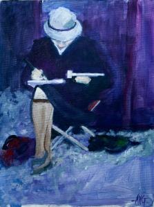 Watercolorist 40x30 cm acryl board