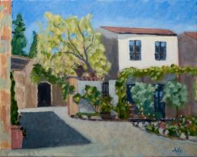 Fattoria San Donato Toscane It. 40x50 cm acryl canvas