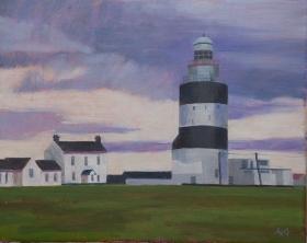 Lighthouse Kilmore quai Ireland 40x50 cm Acryl canvas